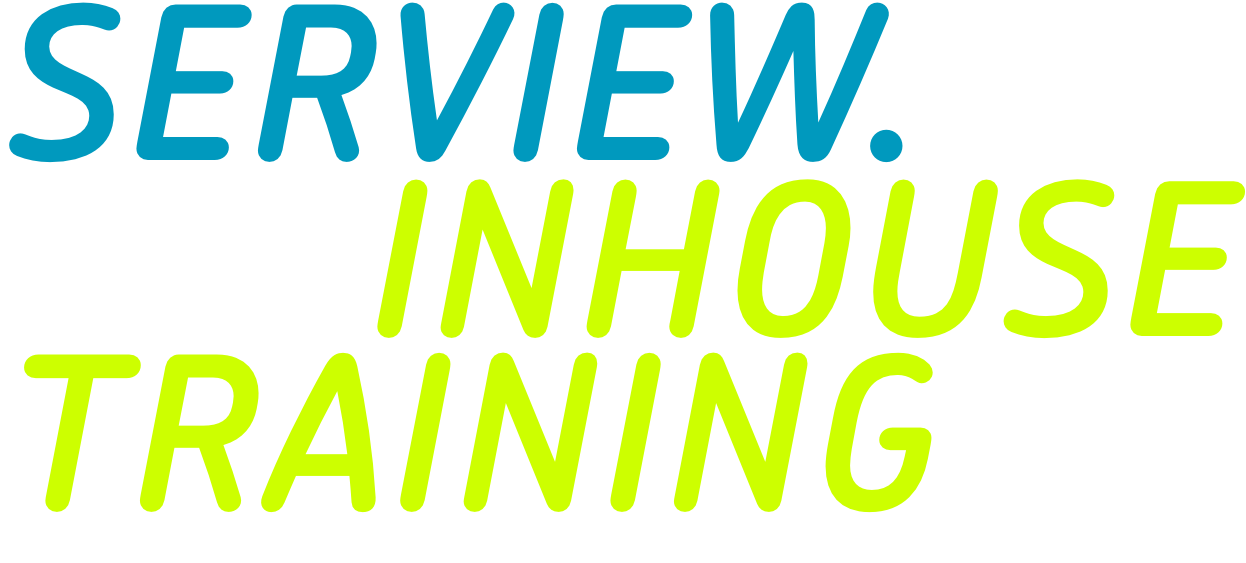 SERVIEW Inhouse Trainings